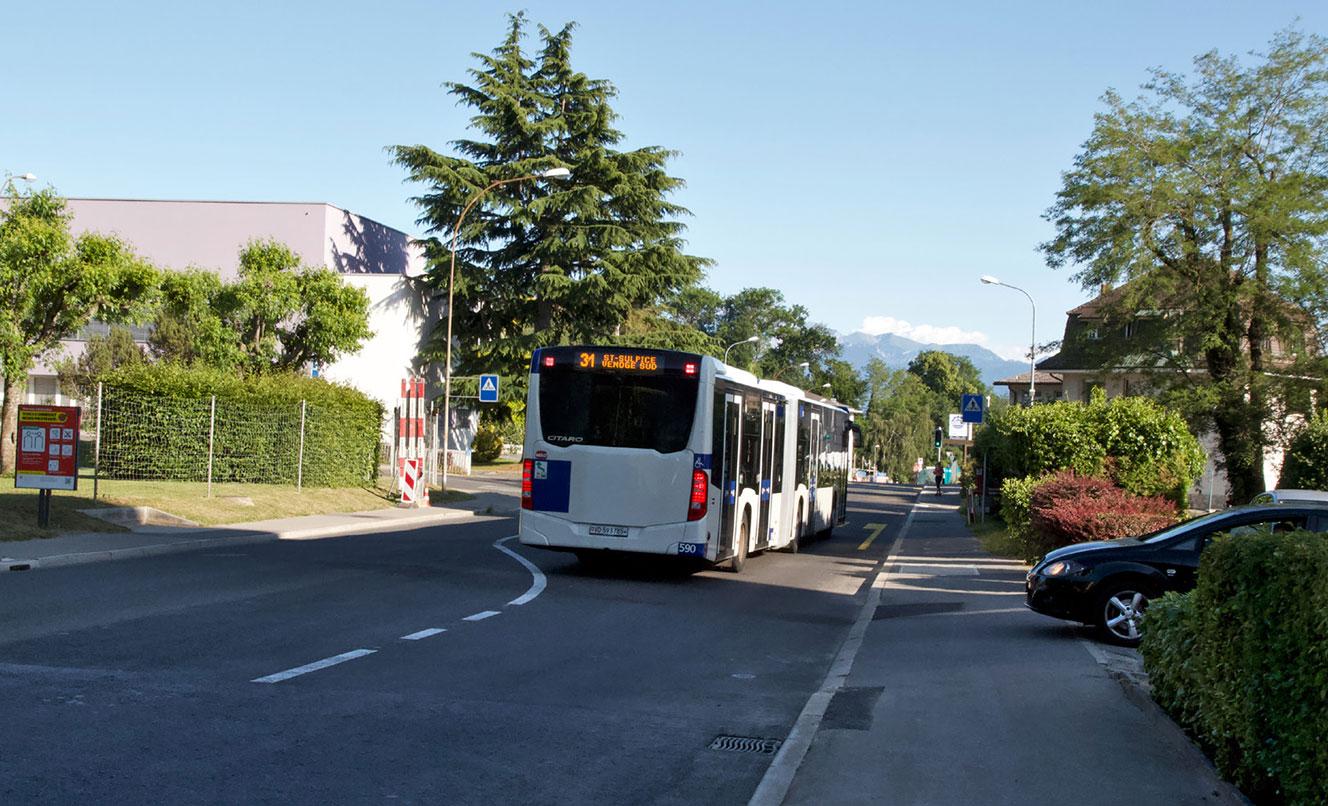 Avenue de la Concorde – CHAVANNES-PRÈS-RENENS – SUISSE