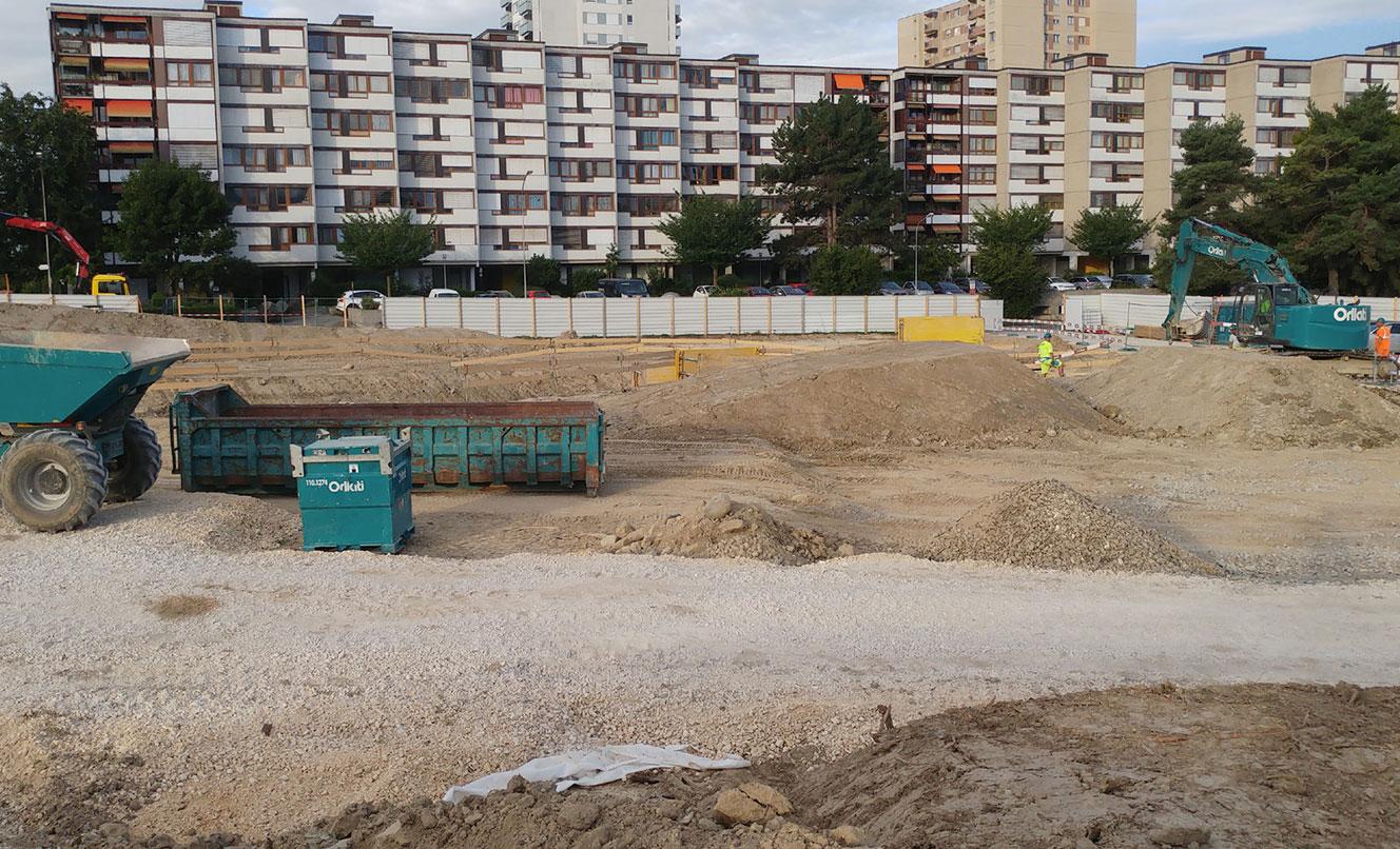 Pièce urbaine E – Plaines du Loup – LAUSANNE – SUISSE
